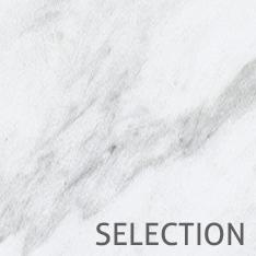 Selection Naturstein Buntmarmor Bianco Carrara
